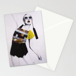 Moda Collage #8 Stationery Cards