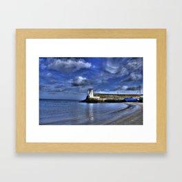 Balbriggan Lighthouse Framed Art Print