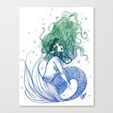 Mermaid 1 Canvas Print