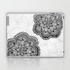 Mandalas in black Laptop & iPad Skin