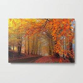 Autumn Parade Metal Print