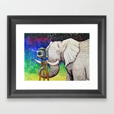 Elephant II Framed Art Print