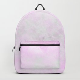 Soft white pink Backpack