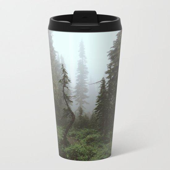 Rainier Forest Metal Travel Mug