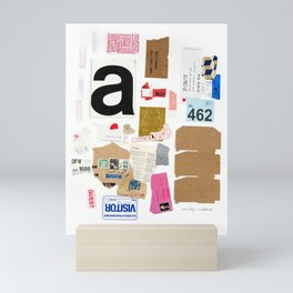 Paper Trail I  Mini Art Print