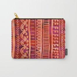 Noni- Orange Carry-All Pouch