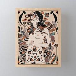 Autumnal Rebirth Framed Mini Art Print