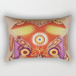 Holy Lumen Skull Rectangular Pillow