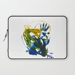 hand on painting Laptop Sleeve