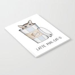 Latte Mac-cat-o Notebook