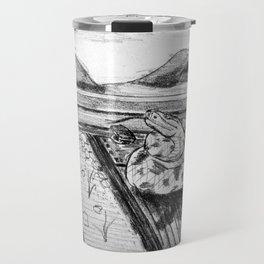 Amos Fortune Snake on Tracks Travel Mug