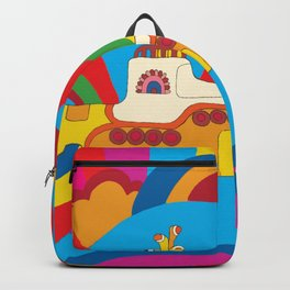 Yellow Submarine Backpack