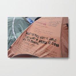 Occupy. Metal Print