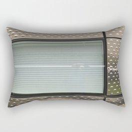 Chrome Lines Rectangular Pillow