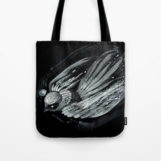 Flight in Midnight Tote Bag
