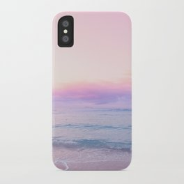 tropical,tropical ver.pink iPhone Case