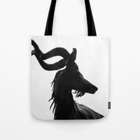antler Tote Bags featuring Antler by Eric Dufresne
