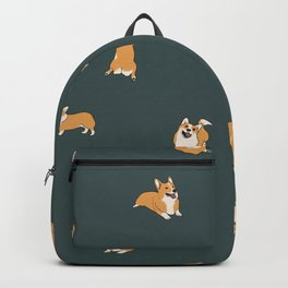 Corgi Print #2 Backpack