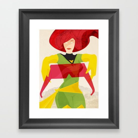 I'll just take these off for you. Framed Art Print