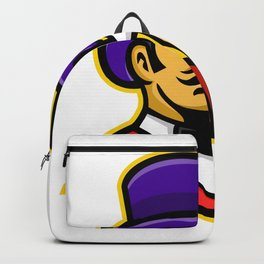 Circus Ringleader or Ringmaster Mascot Backpack