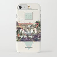 island iPhone & iPod Cases featuring island Vacation by Dawn Gardner