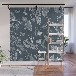 Flower Jungle Wall Mural