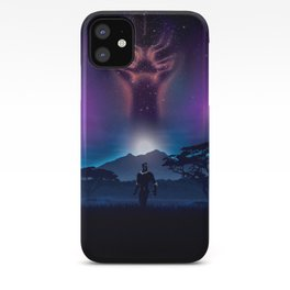 Black Panther Heaven iPhone Case
