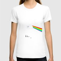 dark side of the moon T-shirts featuring Dark Side of the Moon by Nerdiful Art