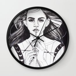 Witch: Divining Wall Clock