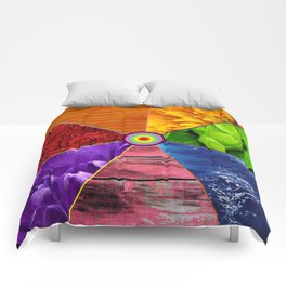 Rainbow Life - Beauty In Color Comforters