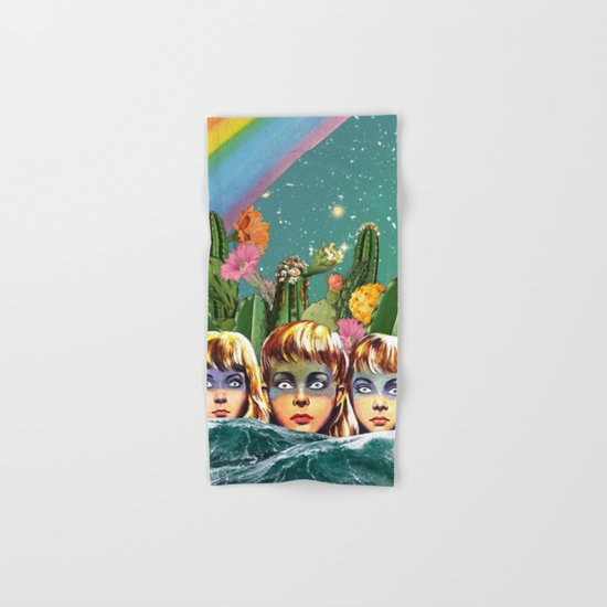 Future Islands Hand & Bath Towel