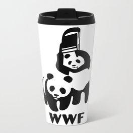 WWF Metal Travel Mug