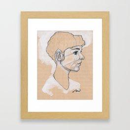 The UnFulfilled One Framed Art Print