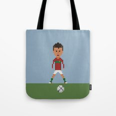 Ronaldo Free kick (Portugal) Tote Bag