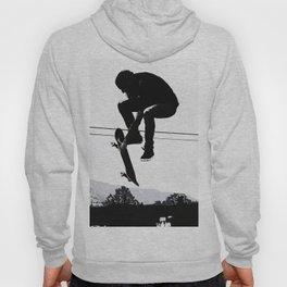 Flying High Skateboarder Hoody