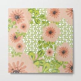 Flowers everywher Metal Print