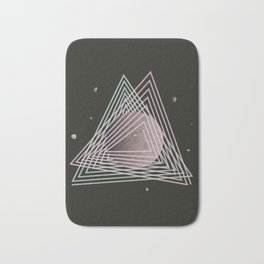 Ceres abstract space Bath Mat