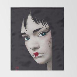 Geisha 2.0 Throw Blanket