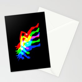 RGB Unicorn V02 Stationery Cards