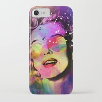 marilyn iPhone & iPod Cases featuring Marilyn  by mark ashkenazi