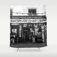 shakespeare Shower Curtains featuring Shakespeare Love by MarianaManina