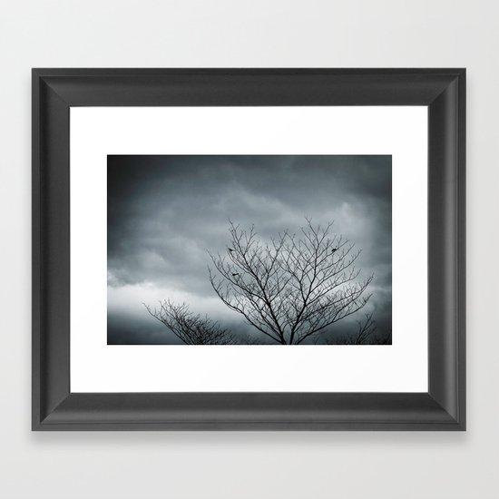 Your Coldness Framed Art Print