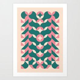 924// MASH (tropical) 1 of 8 Art Print