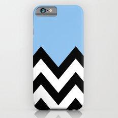 BLUE COLORBLOCK CHEVRON iPhone 6s Slim Case