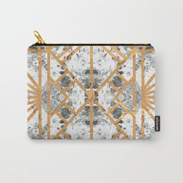Marble Deco Shade One; Carry-All Pouch