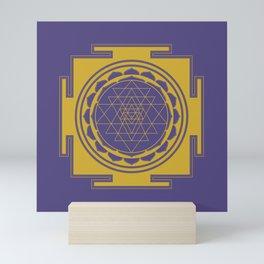 Sri Yantra Mandala Mini Art Print
