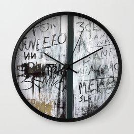 Madeira Window Wall Clock