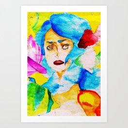 Phobia  Art Print
