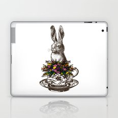 Rabbit in a Teacup Laptop & iPad Skin