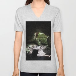 Out Towards the Woods Unisex V-Neck